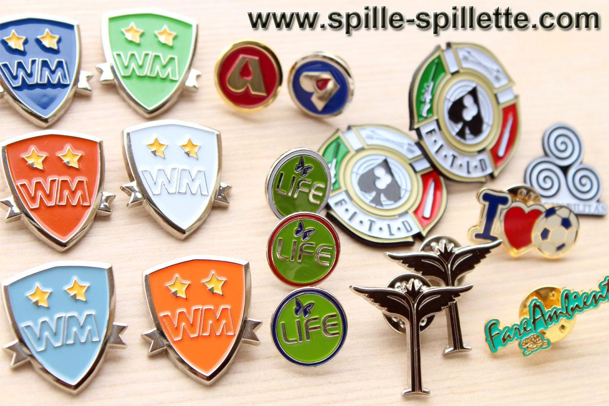 spille spillette personalizzate